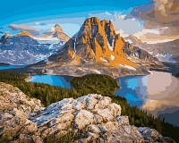 Картина-раскраска Турбо Канада Британская Колумбия (VP651) 40 х 50 см