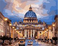 Картина по номерам Турбо Рим Собор святого Петра (VP648) 40 х 50 см