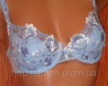 Бюстгальтер 8237 С чашка, объемы 70-85. цвет голубой., фото 2