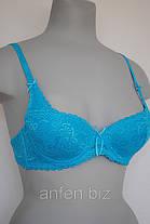 Бюст 2-012 Push-up  70-80 В. цвет голубой,розовый,синий,серый., фото 2