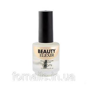 Спа эликсир для укрепления ногтей Naomi Beauty Elixir, 15 мл