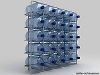 """Подставка металлическая на 25 бутылей """"СВ-25"""