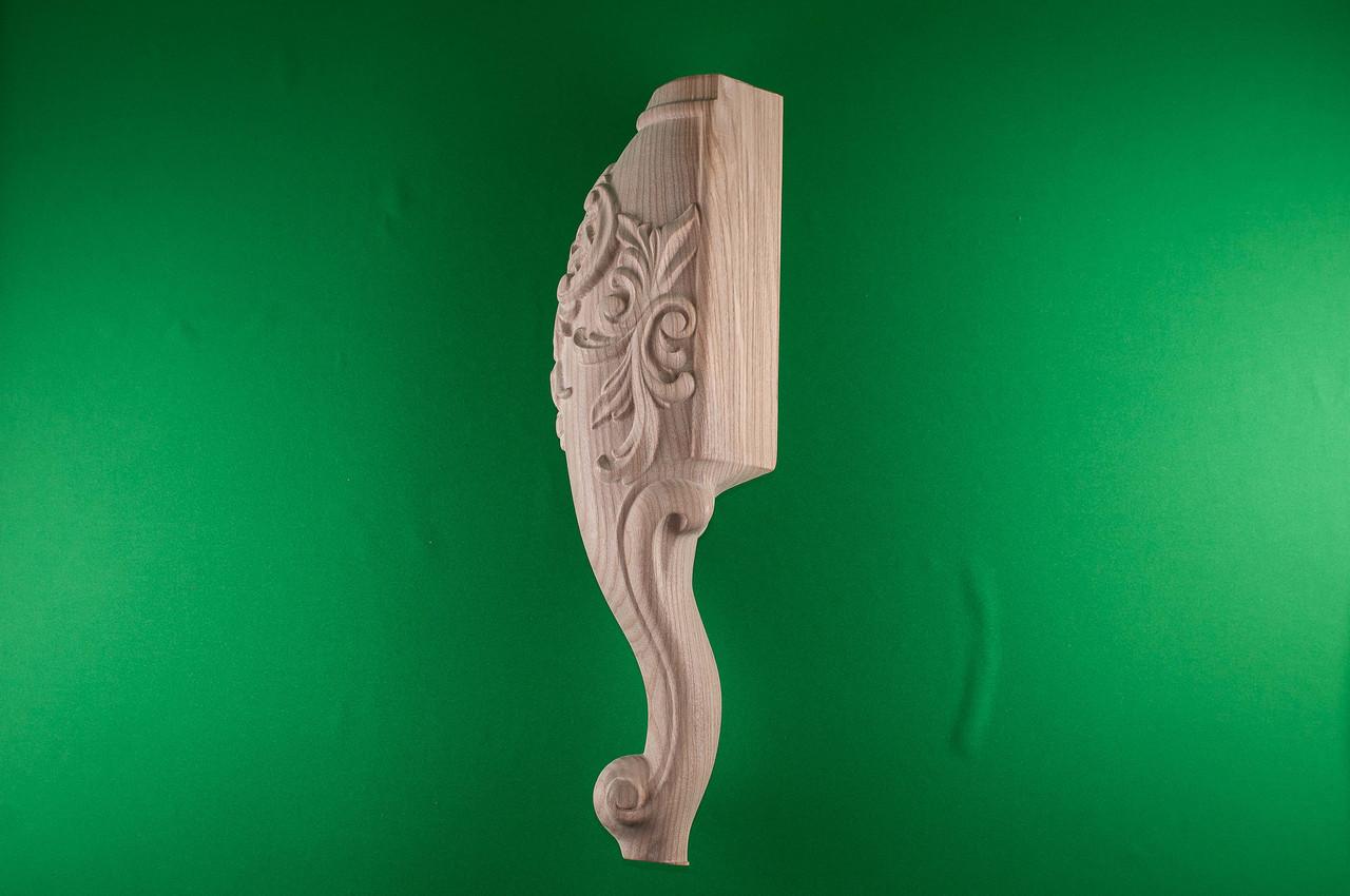 Код Н8. Деревянная ножка резная на кровать