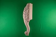 Код Н8. Деревянная ножка резная на кровать , фото 1