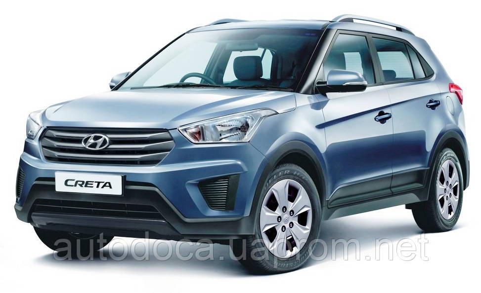Защита картера двигателя и кпп Hyundai Creta 2014-