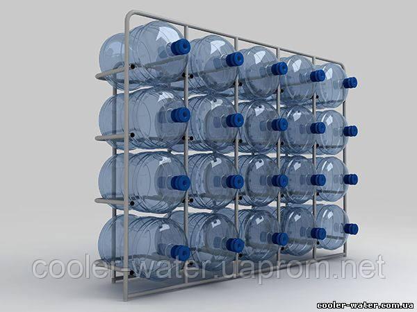 """Подставка металлическая на 20 бутылей """"СВ-20"""