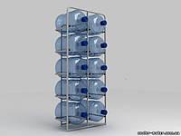 """Подставка металлическая на 10 бутылей """"СВ-10"""