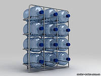 """Подставка металлическая на 12 бутылей """"СВ-12"""