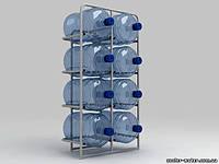 """Подставка металлическая для 8-и бутылей """"СВ-8"""""""