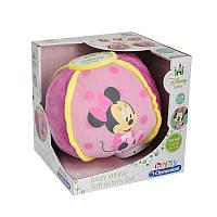 Развивающая игрушка Clementoni Интерактивный мягкий мяч с Минни (14939)