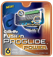 "Картридж Gillette ""Fusion PROGLIDE"" Power (6)"