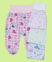 Ползунки для новорожденных тонкие унисекс, фото 1