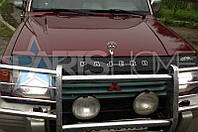 Дефлектор Капота Мухобойка Mitsubishi Pajero Wagon 2 1991-1999