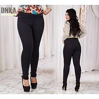 Женские джинсы Американка черные БАТАЛ