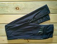 Лосины на девочку с кожаными вставками и пуговицами 152 см, 158 см, 164 см
