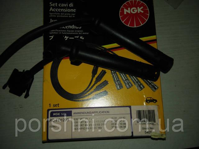 Провода  высоковольтные Scorpio 2.0 95 -- 2 катушки  NGK  RC-FD1203