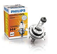Автомобильная галогеновая лампа Philips Vision Premium 12342PRC1 H4 60/55W 12V P43t-38