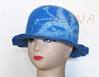 """Авторський капелюшок """"Метелик"""""""