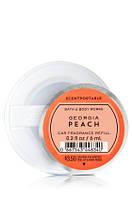 Ароматизатор в машину Персик\Ваниль  - Bath and Body Works - GEORGIA PEACH Scentportable Fragrance Refill