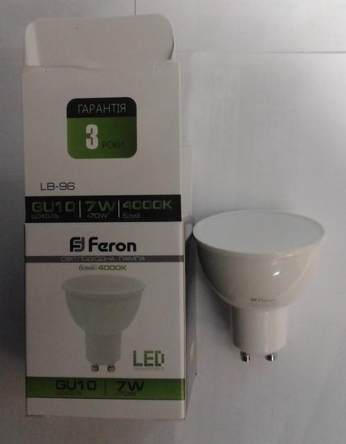 Светодиодные лампы Feron для точечных светильников