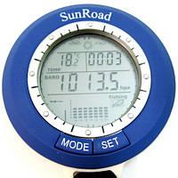 Рыбацкий барометр брелок часы Sunroad SR-204 - Уценка, с указанием погоды и благоприятного момента для рыбалки