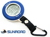 Барометр рыбака SunRoad SR-204 - Уценка!!! с указанием погоды и благоприятного момента для рыбалки, фото 1