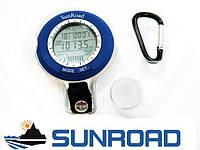 Рыбацкий брелок барометр часы SunRoad SR-204 с указанием погоды и благоприятного момента для рыбалки, фото 1