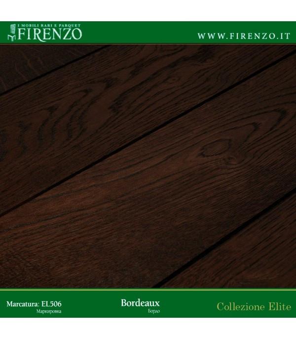 Массивная доска Firenzo (Elite Дуб Бордо)