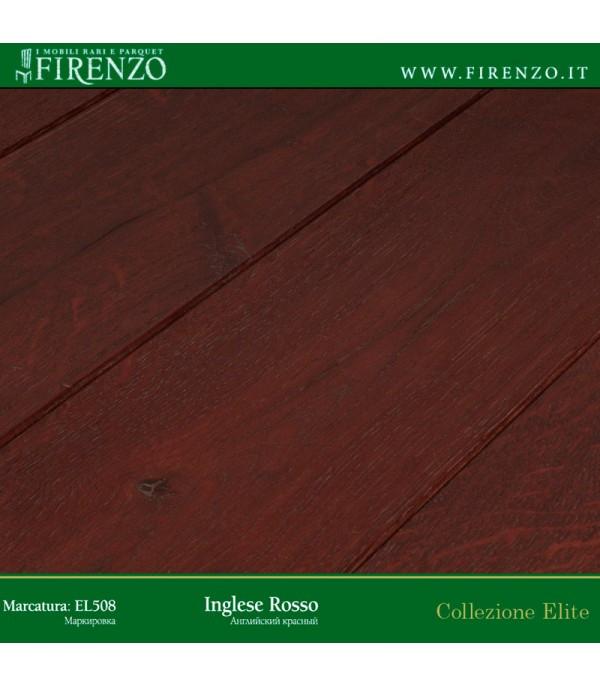 Массивная доска Firenzo (Elite Дуб Англійський Червоний)