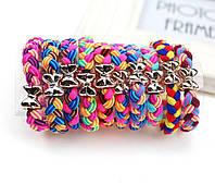Комплект разноцветных резинок для волос