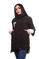 Женская куртка К-019 Черный