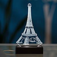 Настольный светодиодный 3D светильник ПАРИЖ, фото 1