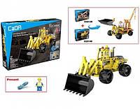 Конструктор CaDA TECHNIC C52014W Трактор,213 дет