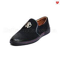 Мужские туфли перфорированные Cosottinni
