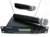 Микрофон, Радиомикрофон SHURE SM58. Вокальный радиомикрофон. Радиомикрофоны Шур, фото 1