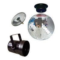 СветоУстановки American Audio Mirrorballset 30 Зеркальные шары