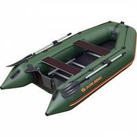 Моторно-гребная надувная килевая лодка Колибри КМ-360D Профи