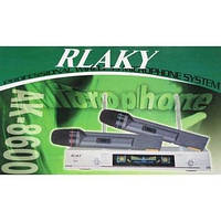 Микрофон, Радиомикрофон AMC AK-8600 Микрофонная радиосистема Rlaky. Вокальный радиомикрофон