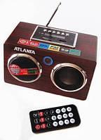 Портативная акустика Atlanfa AT-8927-1 — Радио. мини колонки Портативная колонка