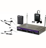 Микрофон, Радиомикрофон Gemini VHF-2001HL  петличный микрофон