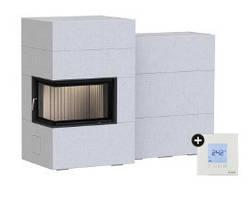 Каминная система Brunner BSG 02 left с дополнительной аккумуляцией сбоку + EAS