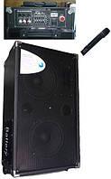 Колонка комбик акустика с акамулятором с микрофоном F88 радіомікрофон