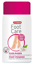 Дезодорирующий тальк для ступней ног TITANIA art.5322