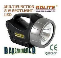 Автомобильный фонарь GD LITE 3401 акумуляторний фонарь, фото 1