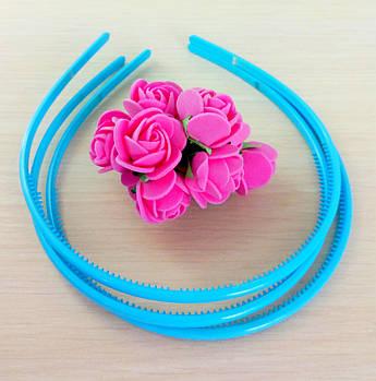 Обруч пластик голубой 5 мм