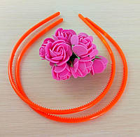Обруч пластик оранжевый 5 мм (товар при заказе от 200 грн)
