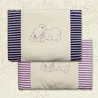 Велюровый плед для малыша с вышивкой