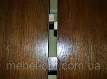 Деревянный обеденный стол Отаман, цвет орех, 1,2 метра, фото 3