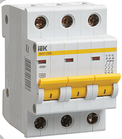 Автоматические выключатели ВА47-29 3P 50A 4,5кА х-ка С IEK