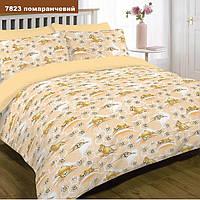 Детское постельное белье Ранфорс(хлопок)7823оранжевый ТМ  Вилюта